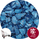 Coloured Sea Shells - Crushed Starburst Blue - Click & Collect